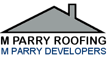 M Parry, Menai Bridge logo.